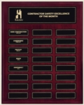 12x15 Perpetual Plaque with Magnetic Plates