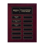 9X12 Perpetual Plaque with Magnetic Plates