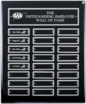 12X15 Perpetual Plaque W/ Screw-In Plates