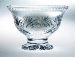 8 Diameter Lead Crystal Pedestal BowlThis high-quality crystal bowl award is ideal for ceremonies and  celebrations. The beveled glass leaves ample space for your custom logo  and  message.New item!Call 800-830-3386 to buy now!