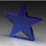 5.75 Cobalt Blue Standing Star