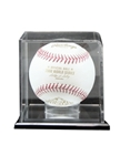 Baseball CaseElegant Display Case with Mirror back. Clear attractive display for that special Baseball. Mounted on a ebony-acrylic base to showcase that special achievement while keeping your cherished memory protected.
