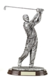 10.5 Pewter Golfer An ideal trophy for youth or adult golf. Engravable plate included.Call 800-830-3386 to buy now!