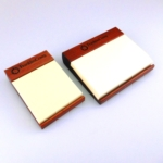 Walnut Post-It Holder Available in 3 and 5. Post-it pad included. SPECIAL CLOSE-OUT PRICE!  OFFER GOOD WHILE SUPPLIES LAST.Call 800-830-3386 to buy now!