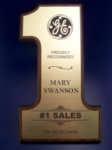 Number One PlaqueLaser engraved flexi-brass plate on wood base. Measures 12 x 7. Call 800-830-3386 to buy now!
