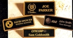 Jewelers Finish Name Badges