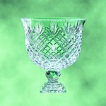 This Stunning Lead Crystal 12 Pedestal Bowl Award is designed to become a cherished heirloom. The intricate cuts and exquisite design reflect a rainbow of color and light making each one truly a work of art. Presented with a generous area to proudly etch your logo and copy for the worthy recipient